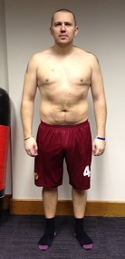 fitness client after photo