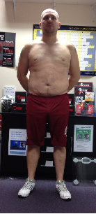fitness client before picture