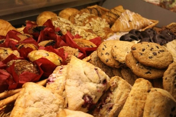 picutre of cakes and biscuits representing carbohydrates