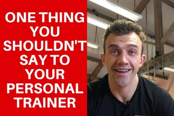 personal trainer giving advice video screenshot